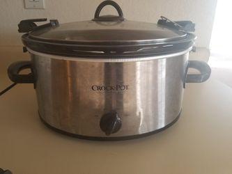 Crock Pot - 6 qt for Sale in Renton,  WA