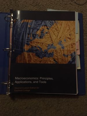 Macroeconomics : Principles, Applications, and Tools for Sale in Dallas, TX