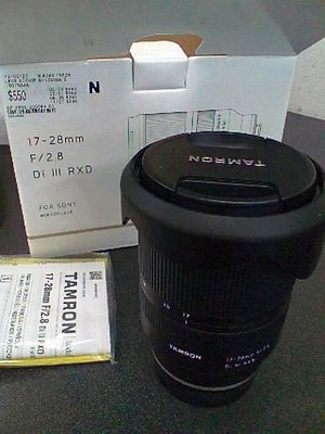 Tamron 17-28mm F/2.8 Di III RXD for Sale in Tempe, AZ