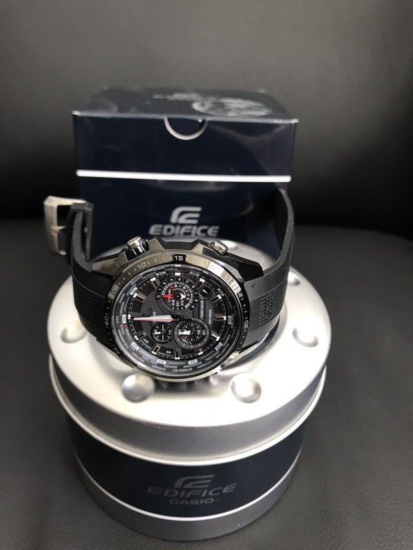 Casio Men's Ediface Solar Multifunction Watch