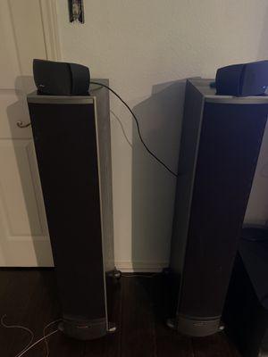 Polk audio speakers for Sale in Garland, TX