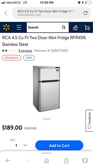 Mini fridge with freezer for Sale in Auburndale, FL