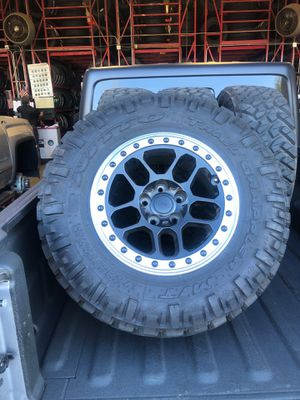 Nitto Tires and Mopar Wheels for Sale in Scottsdale, AZ