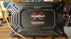 Sony Xplod 1000W 2/1 Channel Power Amplifier (Model XM-1652Z) for Sale in Brook Park, OH