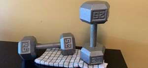 Dumbbell 25 pound for Sale in Austell, GA