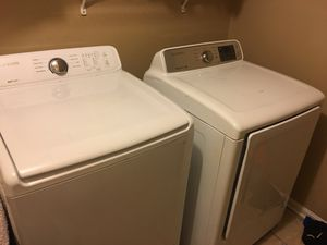 Samsung digital washer and dryer only one year old for Sale in Lexington, KY