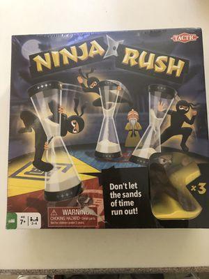 Ninja Rush Board game new for Sale in Irvine, CA