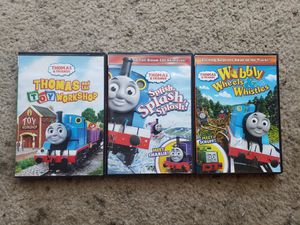 Thomas the train DVD'S for Sale in Sanger, CA