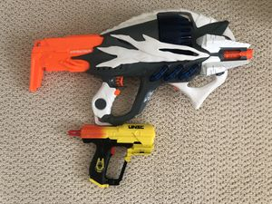 NERF Incisor large gun and small Halo gun for Sale in Lancaster, CA