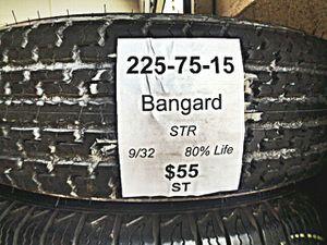 225 75 15 Used Tire for Sale in San Bernardino, CA