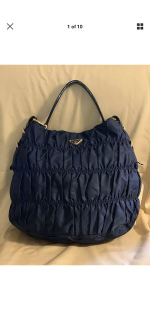 AUTH BEAUTIFUL BLUE PRADA for Sale in Oshkosh, WI
