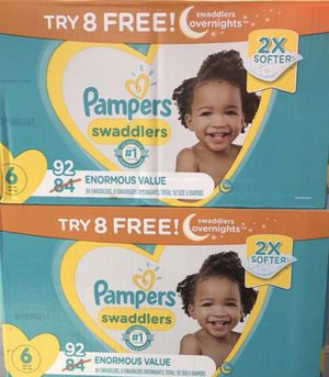 Pampers size 6 for Sale in Vernon, CA