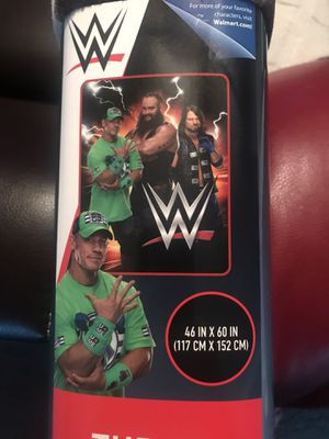 "BRAND NEW ""WWE"" THROW BLANKET - 44"" x 60"" for Sale in Largo, FL"