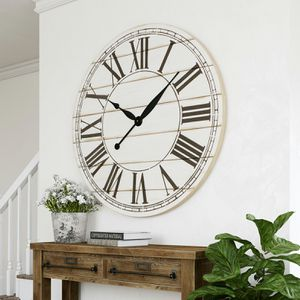 Renata Oversize Shiplap Wall Clock for Sale in Alexandria, VA