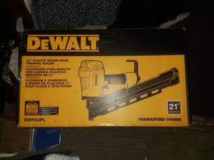 Dewalt pneumatic nail gun for Sale in Seattle, WA