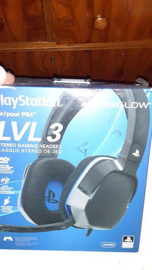 Ps4 gaming headset for Sale in Fontana, CA