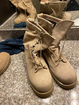 Size 9 Military boots for Sale in Woodbridge, VA