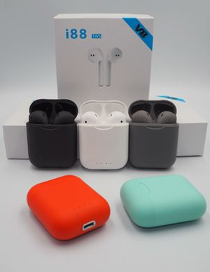 i88 Wireless Bluetooth Headphone Earbuds For iPhone,Android,LG,LAPTOP With Charging BOX UNIVERSAL 5 🔥🔥 HOT 🔥DIFFERENT🔥COLORS 🔥🔥🔥 for Sale in South Attleboro, MA
