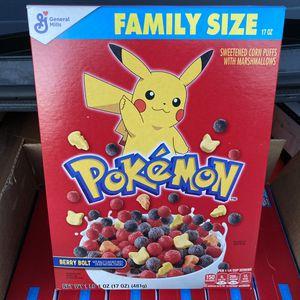 Pokemon Cereal for Sale in Culver City, CA