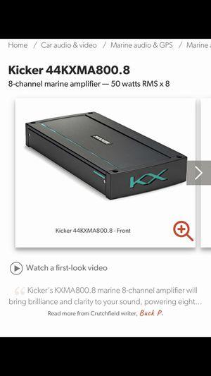 KXMA800.8 Kicker Amplifier for Sale in Waterford, CA