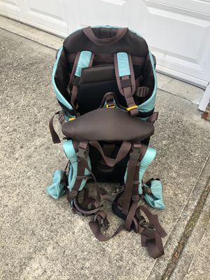 Hiking 🥾 backpack baby/toddler make me and offer for Sale in Buford, GA