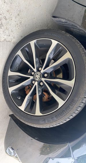 2018 Corolla stocked rims for Sale in Waxahachie, TX