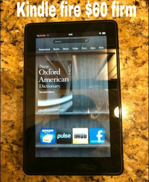 Kindle fire $60 firm for Sale in Nashville, TN
