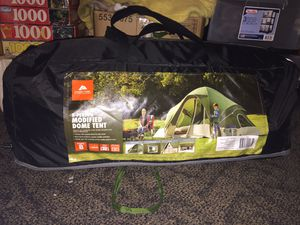 8 man tent never used for Sale in Wadena, MN
