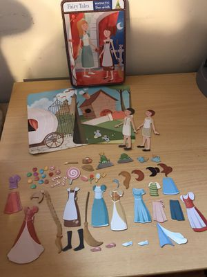 Fairy Tales Magnetic Dolls for Sale in Dumfries, VA