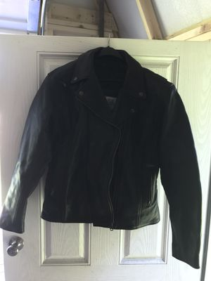 Fox Creek ladies leather classic motorcycle jacket for Sale in Pickerington, OH