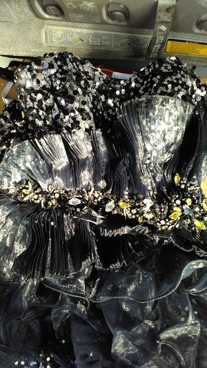party black silverdress for Sale in Modesto, CA