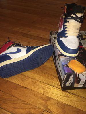 Jordan retro 1 UNION blue toe size 12 for Sale in Forest Park, IL
