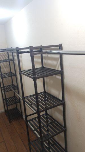 Closet shelves, closet rack for Sale in Katy, TX