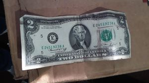 Selling $2 bills old 1976 how much do you guys give me for this kind of bills I have like a couple more beers like the same old Bill $2 for Sale in Spartanburg, SC
