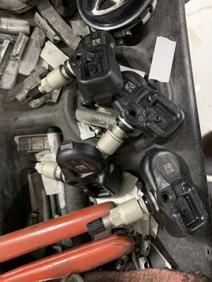 4 used tire pressure sensors (Toyota) for Sale in Rockville, MD