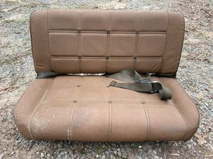 Jeep CJ7 Levi's Edition Rear Seat - 50$ for Sale in Charlotte, NC