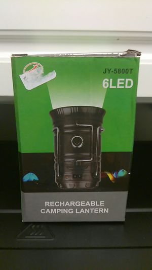 6LED Rechargeable camping lantern for Sale in Washington, DC