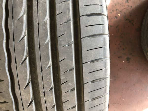 245-45-20 two tires