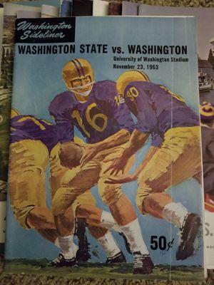 25 Washington university HUSKY's magazines for Sale in Everett, WA