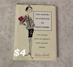 Gospel According to Coco Chanel: Life Lessons from the World's Most Elegant Woman, 2009 for Sale in Portland, OR