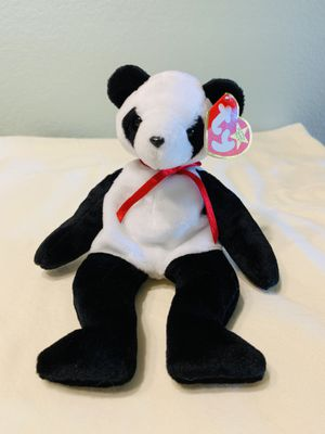 """""""Fortune"""" Panda Bear TY Beanie Baby 1997 for Sale in Austin, TX"""