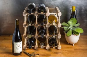 Wine rack for 12 bottles for Sale in Portland, OR