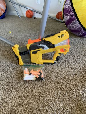 Nerf Gun with bullets (originally $60) (great condition) for Sale in NV, US