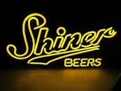 Very Nice SHINER BEERS Neon Beer Sign. for Sale in Medway, MA