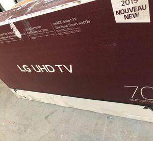 "LG UHD 70"" tv WFVQ for Sale in Garden Grove, CA"