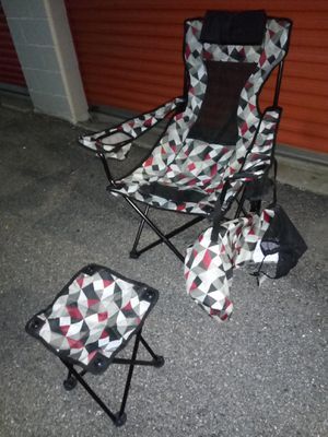 Chair and foot rest for Sale in Hyattsville, MD