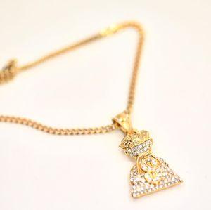 14K Gold finish Money 💰 Pendant w Chain for Sale in Dallas, TX