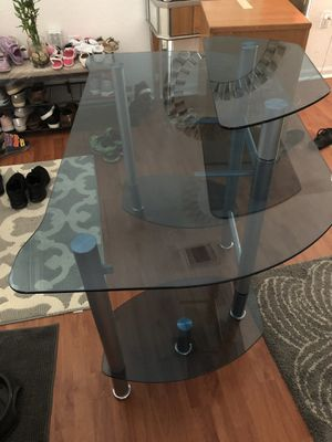 Glass computer desk for Sale in Miami, FL