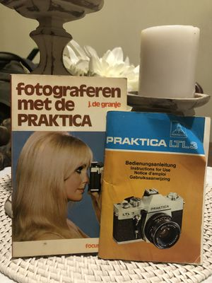 Vintage Praktica Camera Manuals for Sale in Troup, TX