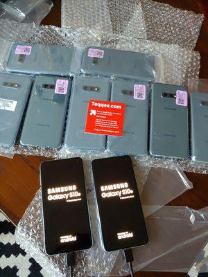 Lot of 10 Samsung Galaxy s10e 128gb sim unlocked for Sale in San Jose, CA